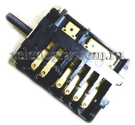 Переключатель мощности духовки электроплиты ЗВИ 2ПМ 16-5-08 5-ти позиционный переключатель мощности электроплиты ЗВИ