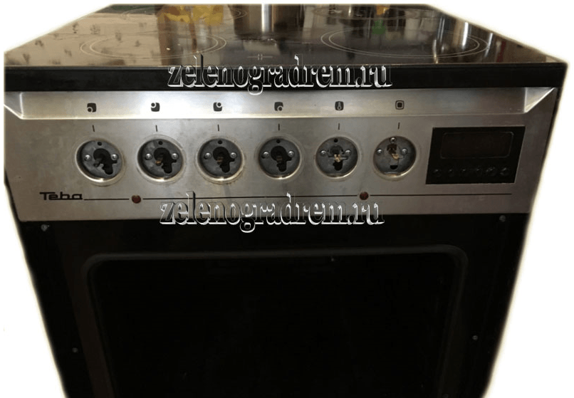 Ремонт газовых плит электрика