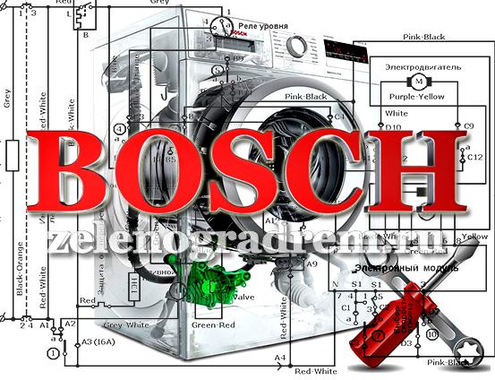Ремонт Стиральной Машины Bosch Wae 20467 K
