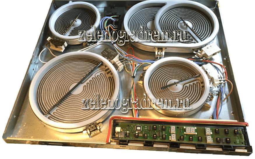 варочная панель электролюкс схема ремонт