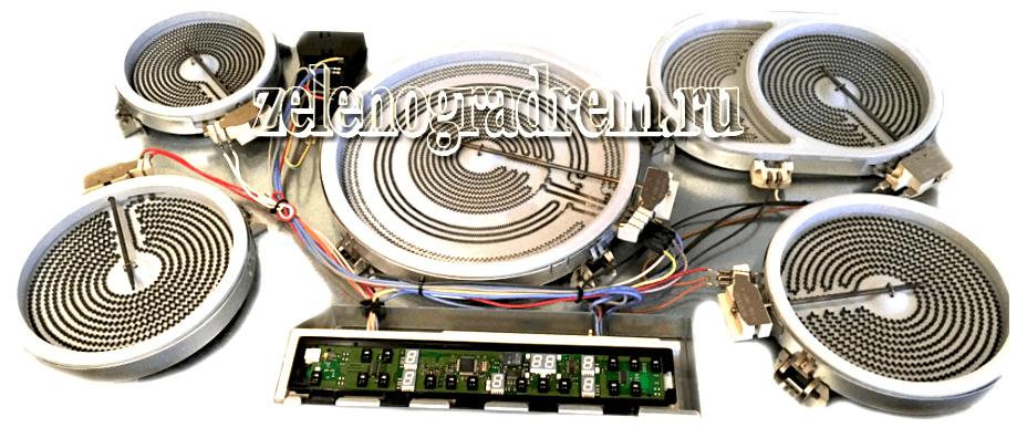 варочная панель электролюкс в разборе