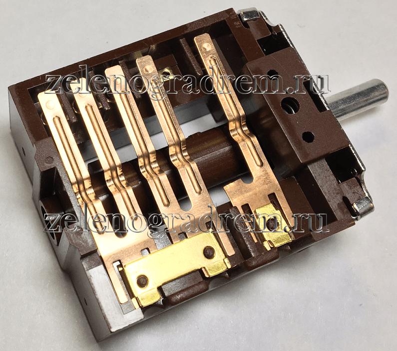 Переключатели мощности конфорок для электроплит ЗВИ ПМ16-6-11