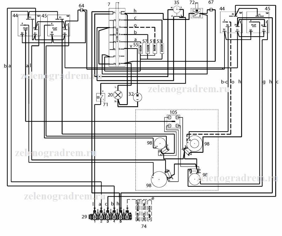 схема электроплит класса А+