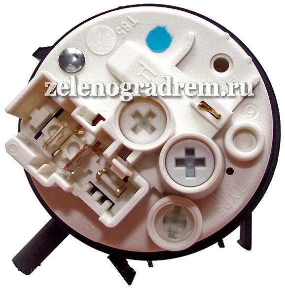 Датчик Уровня Воды (Прессостат) Стиральной Машины Whirlpool Код 481227128554