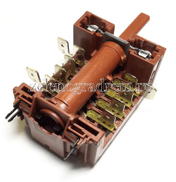 Переключатель духовки 5-ти позиционный с креплением под терморегулятор плиты Ханса