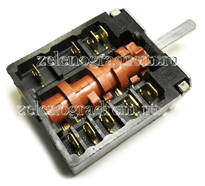 Переключатель мощности конфорок электроплит