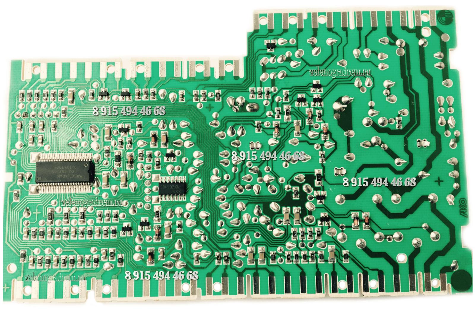 Силовой Модуль Машины Zanussi | Ремонт Стиральных Машин В Зеленограде На Дому