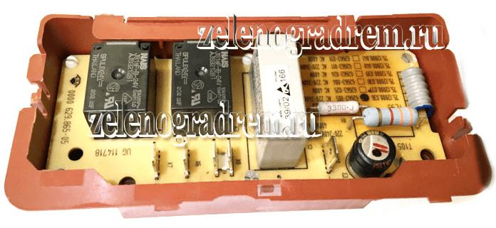 Электронный модуль включения зон конфорок