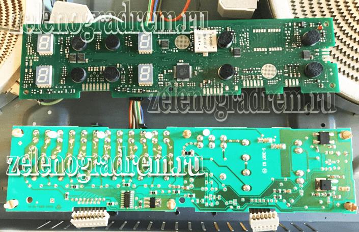 модуль управления варочной панели аристон