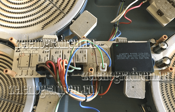 ремонт варочных сенсорных панелей