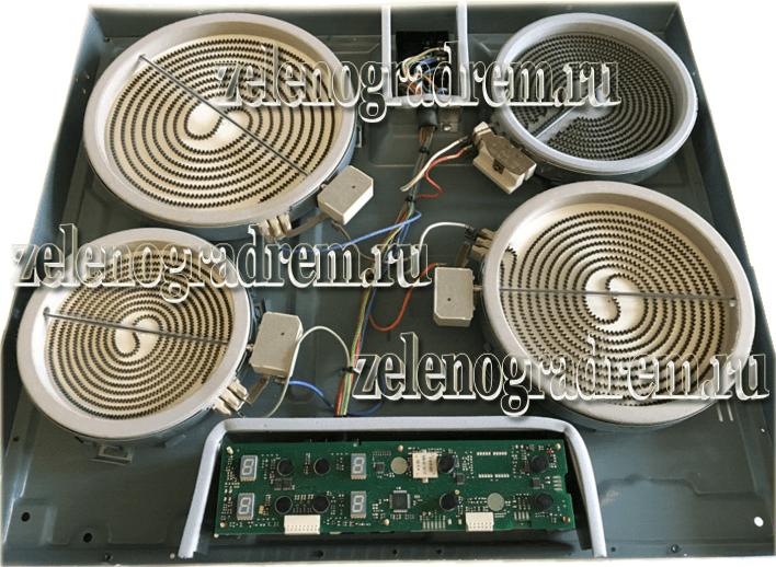 Ремонт варочной газовой панели крона