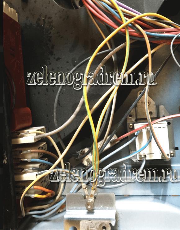 устроуство электроплиты бош