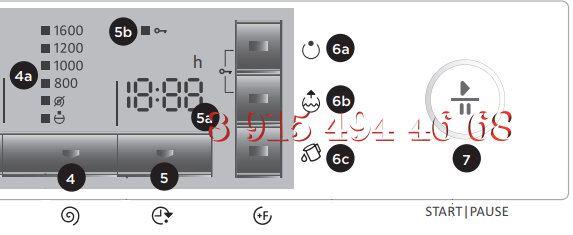 Панель Индикации Стиральной Машины Gorenje