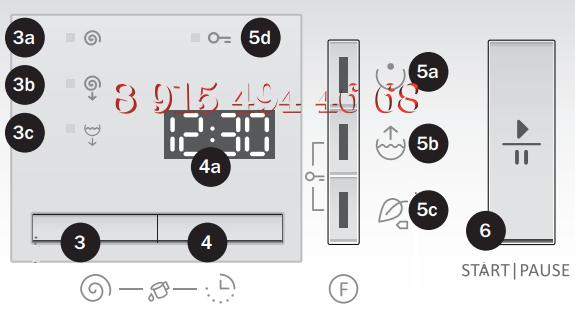 Панель Индикации Стиральных Машин Gorenje