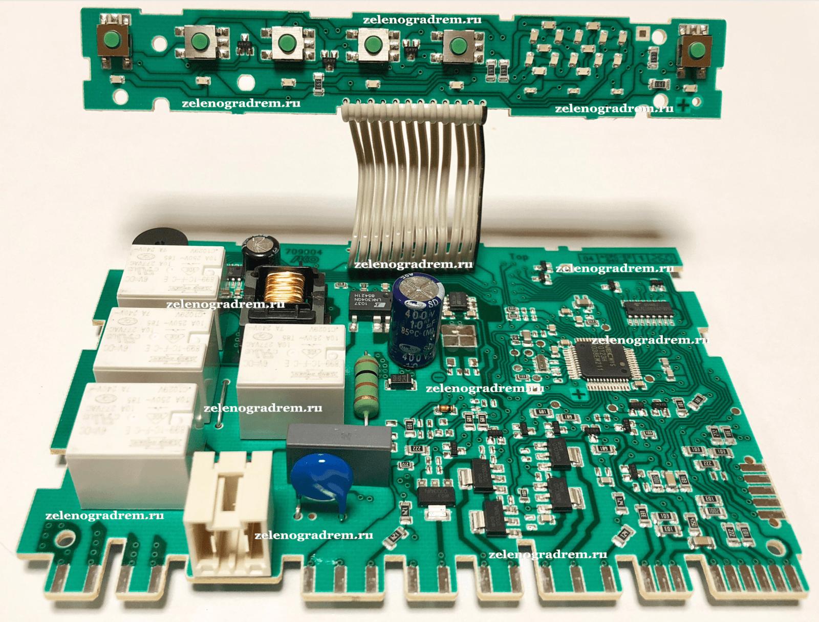 Модуль Управления Посудомоечной Машины Bosch