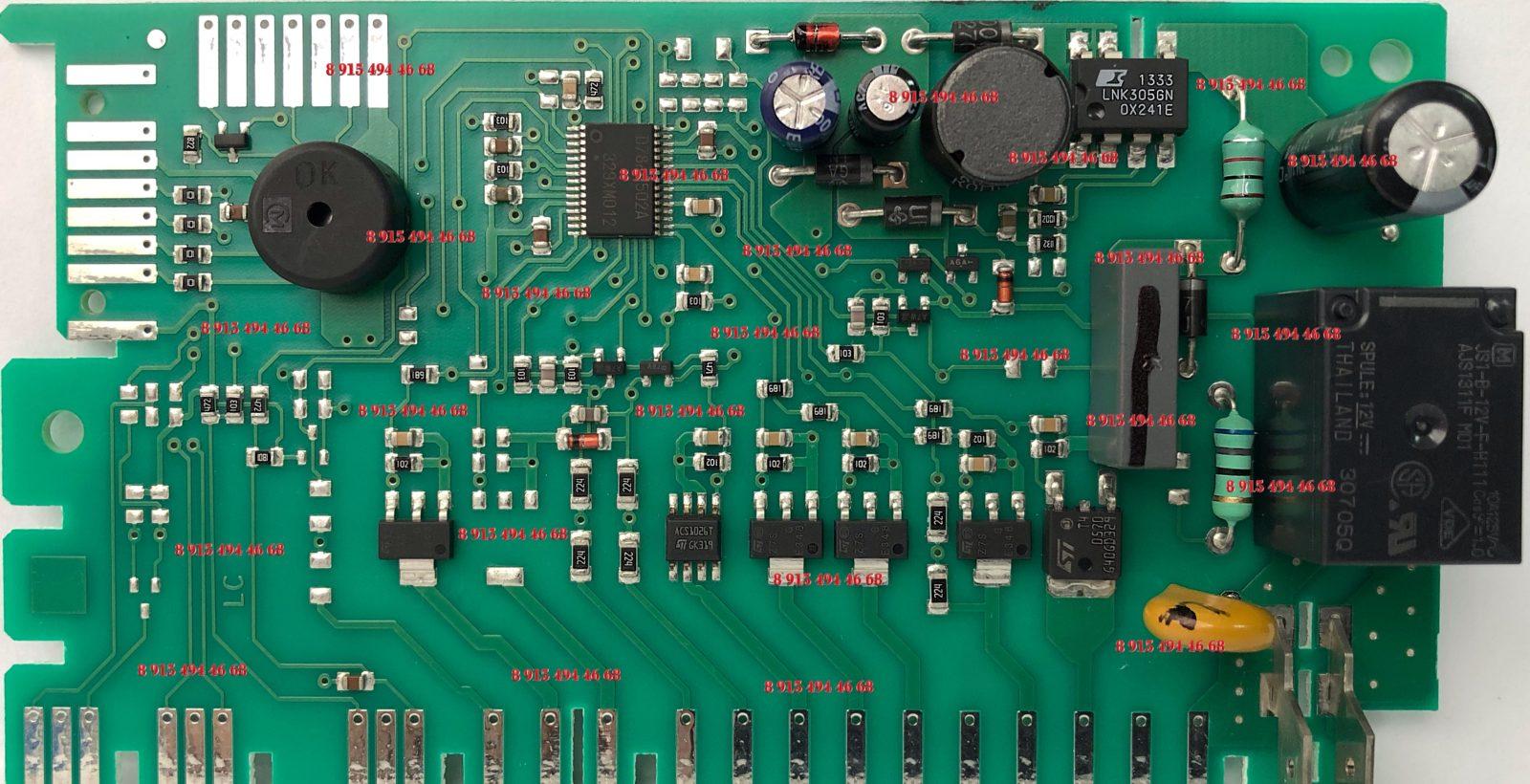 Модуль управления посудомоечной машины Gorenje