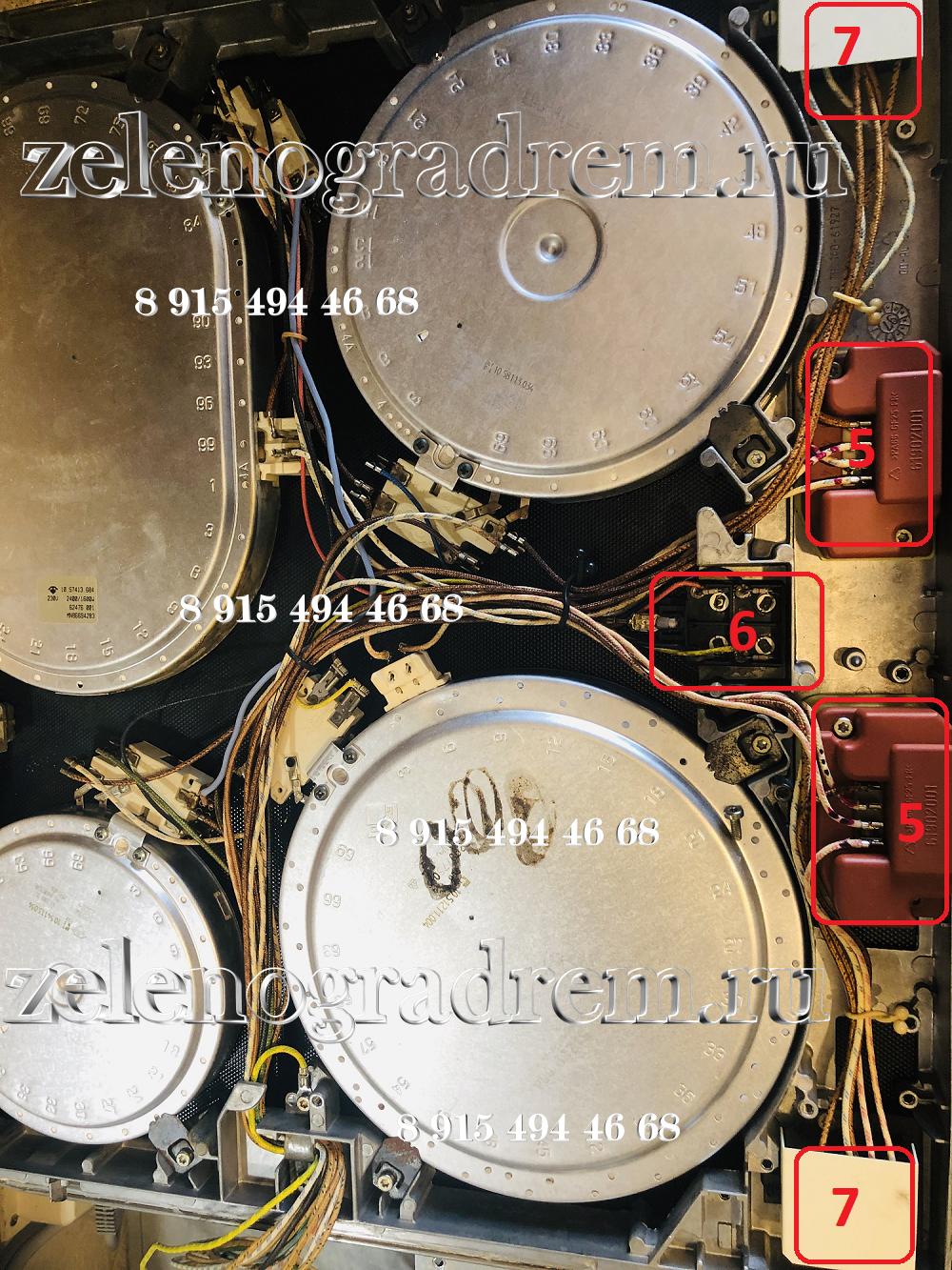 Варочная Панель Зависимая Стеклокерамика Bosch