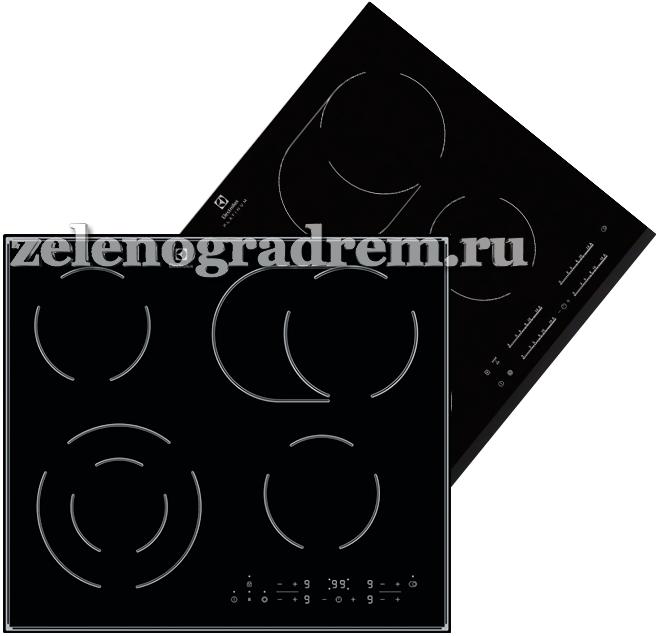 Коды ошибок варочных поверхностей Electrolux