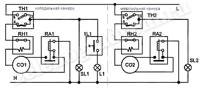 Принципиальная Электрическая Схема Стинол 102