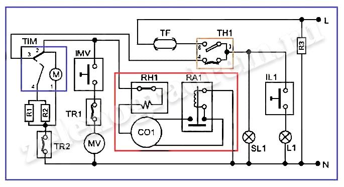 Электрическая Схема Стинол 103