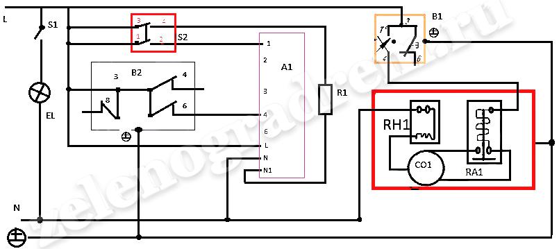 Электрическая схема холодильника Атлант